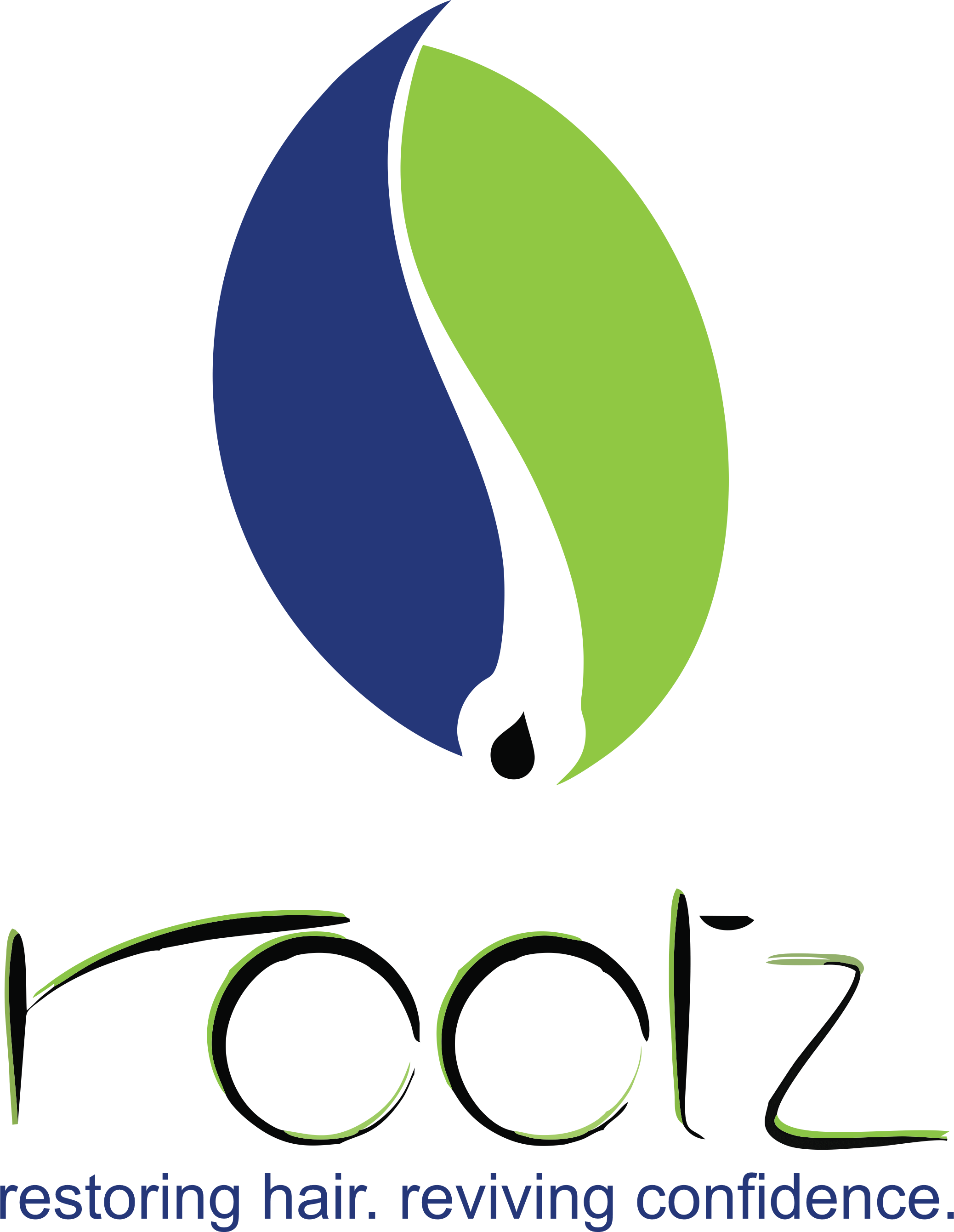Rootz Hair Logo in Mobile
